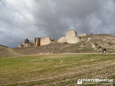 Murallas Fuentidueña - conocer gente hiking; excursiones fin de semana
